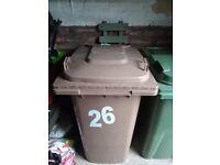 Standard size wheelie bin ( Renfrewshire Council )