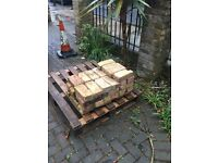 London stock bricks used in very good condition, clean and ready to lay.120 in total.