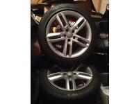 18 inch Audi sline alloys
