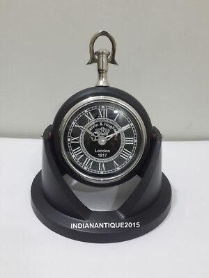 CLASSICAL MARITIME VICTORIAN LONDON DESK TABLE CLOCK HOME DECOR