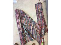 Two John Lewis Flat Weave Rugs, Cotton Rich, Multicolour