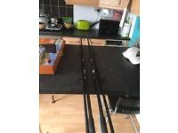 John Wilson carp rods x2