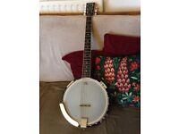 6 String Tanglewood Banjo Guitar Union Series