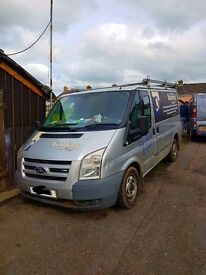 Ford transit Silver 2008 on 57 plate No VAT