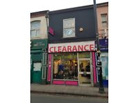 **GROUND FLOOR LOCK UP SHOP**LADYPOOL ROAD**PRIME LOCATION**WELL PRESENTED**IDEAL START UP BUSINESS