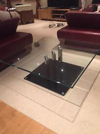 Glass coffee table *reduced*