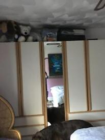 Wardrobes / chest of drawers / beside cabinets