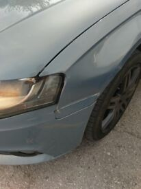 Audi A4 58 plate
