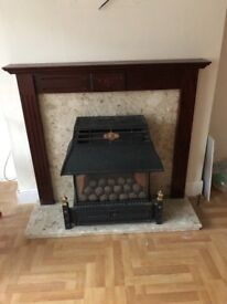 Marble Gas Fire - Flavel Emberglow
