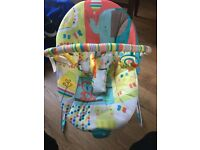 child's baby bouncer