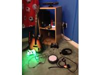 XBox 360 S with Kinect, Guitar and 250GB Hard Drive