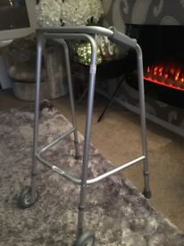 NRS Domestic walking Frame with wheels **CAN DELIVER**