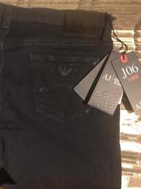 Armani women's jeans size 10-12 RRP£130