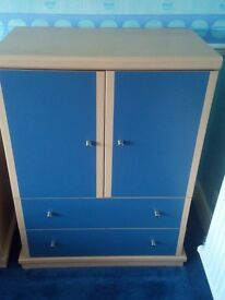Blue Modern Cupboard