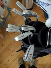 Set of golf clubs - Titleist / Cleveland- left handed - for 1M65-1M70 height