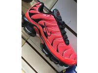 Nike air max TNs red/black 6,7,8,9,10,11