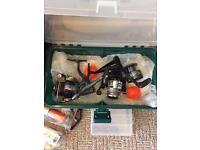 2 Fishing Rods & Gear