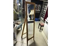 Tall free standing Mirror - Good Condition