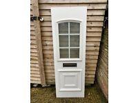 A cheap upvc door panel