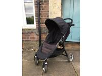Baby jogger mini city 4 wheel with raincover
