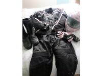 Complete Ladies Leather Biker Kit