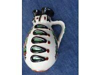 Decorative pottery Character Jug