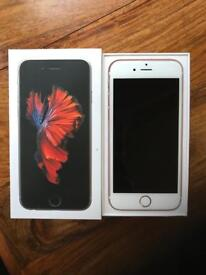 iPhone 6s 64gb unlocked immaculate in the box rose gold
