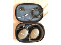 Bose QC-25 noise cancelling headphones + free Apple/airline adapters