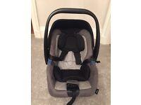 Recaro privia infant car seat shadow grey excellent condition