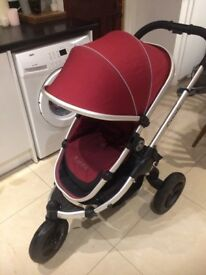 iCandy peach jogger accessories - cranberry