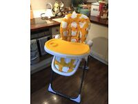 Cosatto Chicken High Chair - Adjustable, Excellent Condition