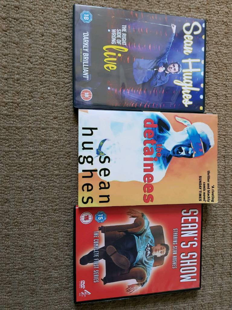 Sean Hughes dvds and book