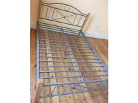 Double bed frame with free mattress £100