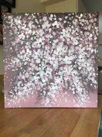 Next hand painted wall canvas