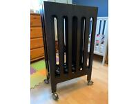 Bloom alma folding mini cot
