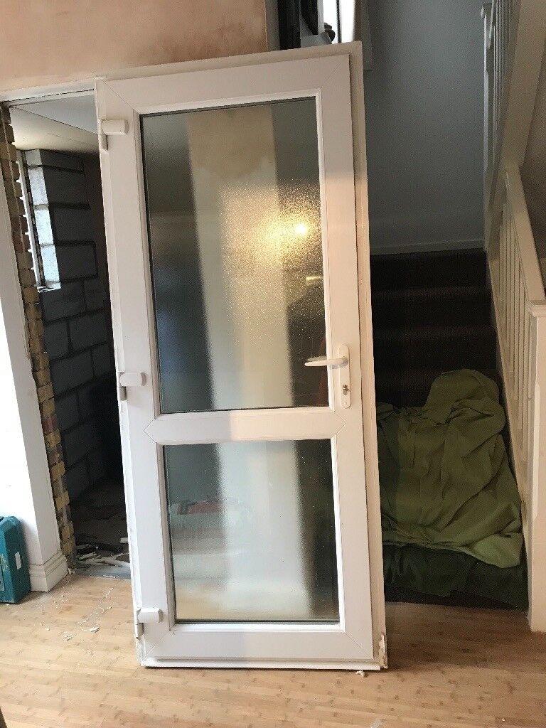 Double Glazed Front Door In Excellent Condition Width 89cms Height