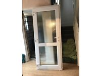 Double glazed front door in excellent condition. Width 89cms height 205cms. Buyer collects