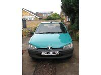 Peugeot 106 1.5 Diesel 1997 MOT June £375 ono