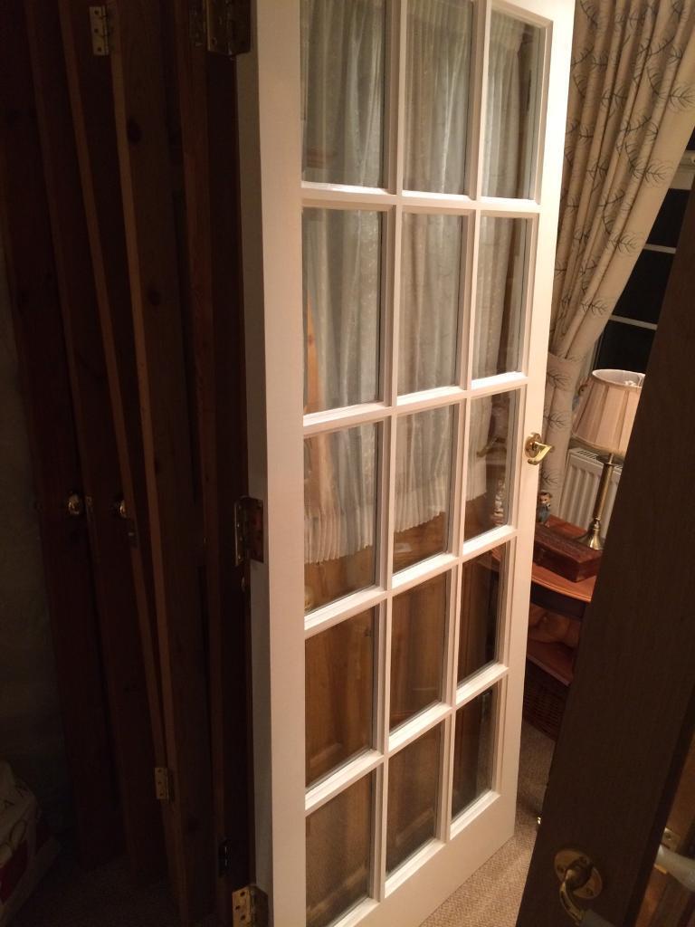 """Hardwood external door 32 3/4"""""""