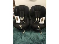 Maxi cosi priori reclining car chair in black. Excellent condition. 2 available. Drayton