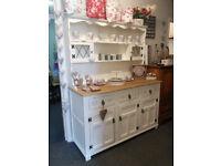 solid Oak shabby chic Dresser