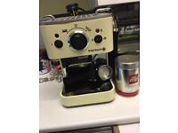 Espresso machine with milk frother plus extras