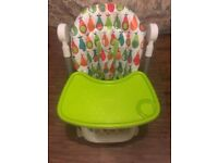 Mamas & Papas Adjustable Highchair with Removable Tray Insert