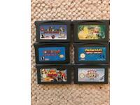 Game boy advance games bundle