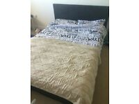 Small Double Bed 1 year old