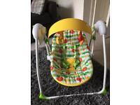 Mothercare baby swing/baby rocker