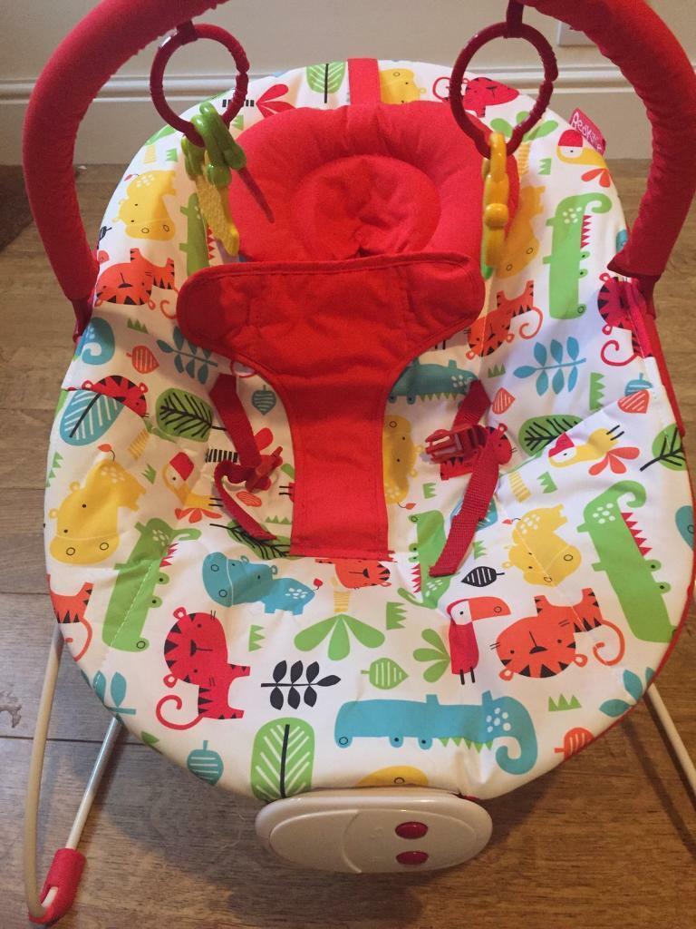 Red Kite Cozy Bouncer baby