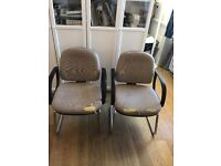 2 VERY comfortable office chairs **FREE**
