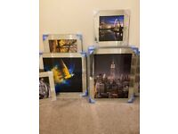 Liquid Art Mirror Framed Glass Pictures – Affordable Prices – 4 Sizes