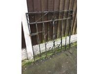 Wrought Iron Garden Gate- DELIVERY/COLLECTION WIGAN